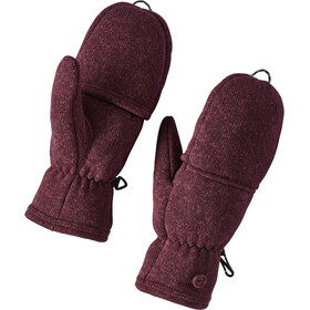 Patagonia Better Sweater Gloves Dam dark currant